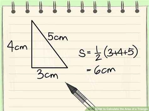 How To Area Of A Triangle 4 Ways To Calculate The Area Of A Triangle Wikihow