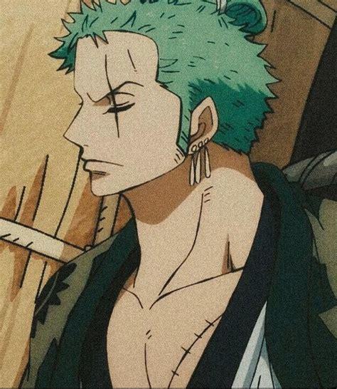 Aesthetic Wallpaper Zoro💦🖤😊 Zoro One Piece Manga Anime