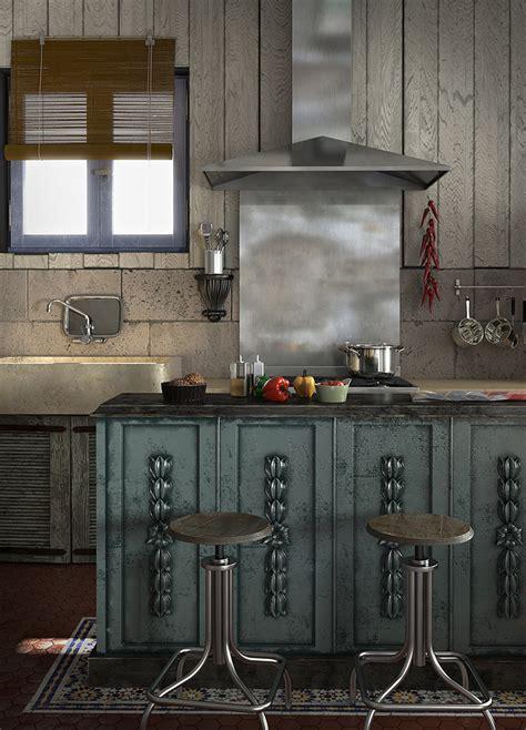 corne cuisine caustic corner cuisine de récup