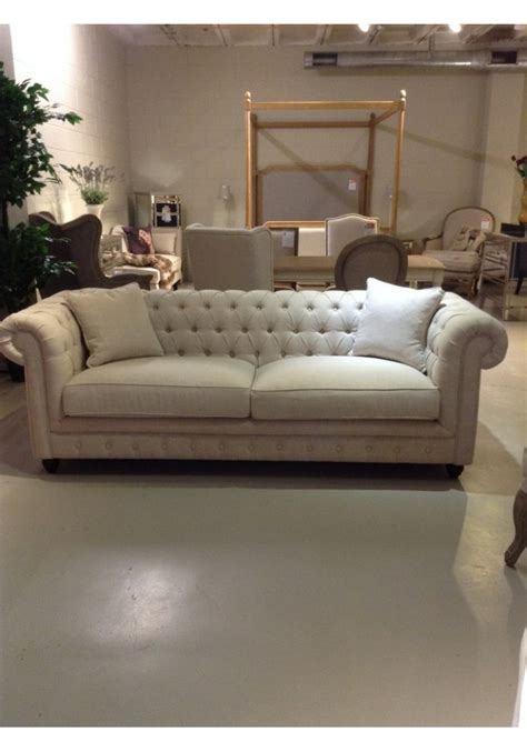 chesterfield sofa  seater fabric
