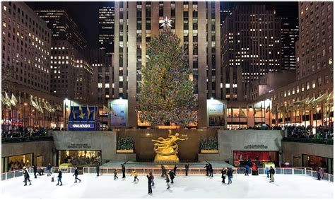 rockefeller center christmas tree wallpaper new york wallpapers top free new york backgrounds wallpaperaccess