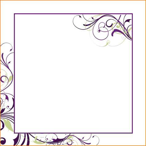 birthday invitation blank invitation templates superb