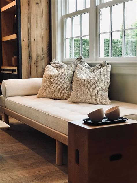 charlotte perriand daybed  natural oak frame  cassina