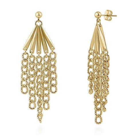 Chandeliers Earrings by Berricle Silver Tone Fashion Statement Dangle Chandelier