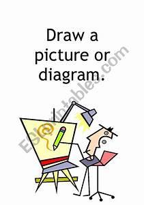 English Worksheets  Mathematics Problem Solving Poster