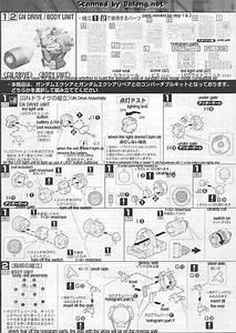 Mg Gundam Exia Ignition Mode English Manual And Color