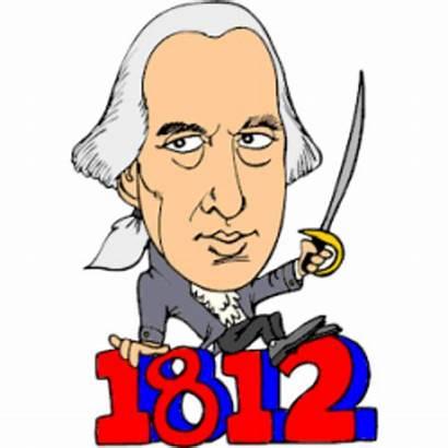 Adams John Clipart Madison James President 1812