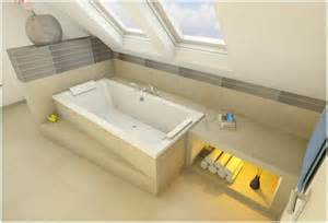 badezimmer mit badewanne und dusche badewanne dachschräge duschvorhang hauptdesign