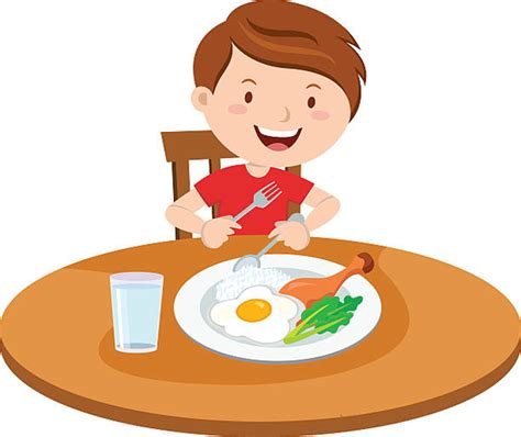 Breakfast Clip Kid Breakfast Clipart Free Images At Clker