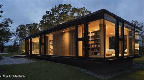 casas prefabricadas de acero  cristal casas