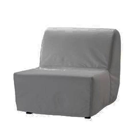 replace cover  ikea lycksele chair bed  cotton
