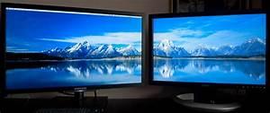 Pc Monitor Auf Rechnung : ein hintergrundbild auf 2 monitore computer pc monitor ~ Haus.voiturepedia.club Haus und Dekorationen
