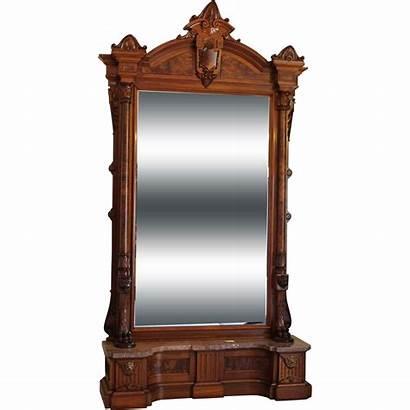 Hall Mirror Victorian American 1870s