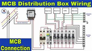 Mcb Distribution Box Wiring