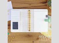 A5 Mint Planner Kit A5 Planner Kits A5 Color Crush