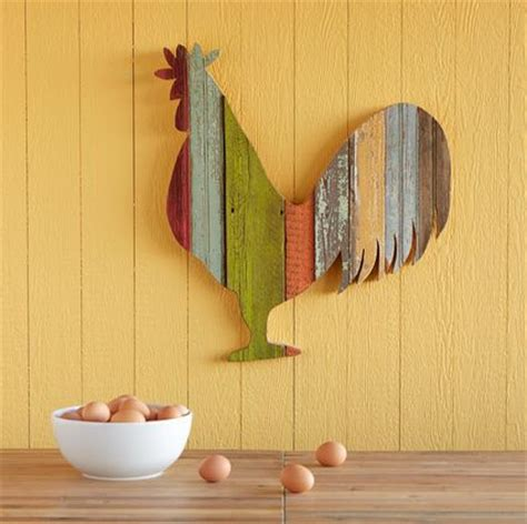 chicken kitchen accessories pallet rooster diy pallets 2166