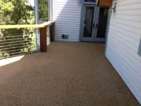 rock carpet waterproof deck rustic deck salt lake