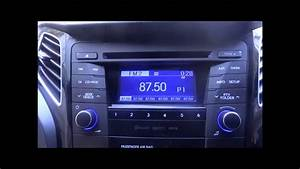 2012 Hyundai I40 Bluetooth  Cd  Mp3 Player Stereo