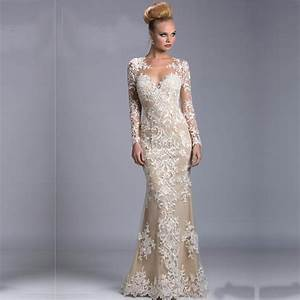 2015 new long janique long sleeve dresses for weddings With long sleeve dresses for wedding guest
