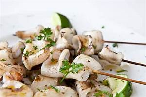 Simple Grilled Calamari • Steamy Kitchen Recipes