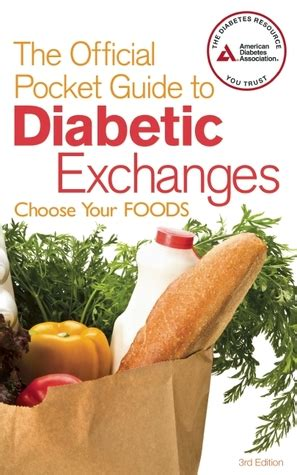 official pocket guide  diabetic exchanges choose