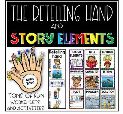 Story Elements Retelling Hand Mapping Grade 2nd