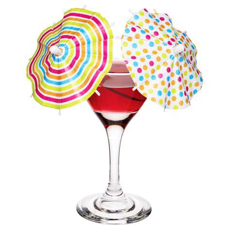 mix  cocktail umbrellas drinkstuff