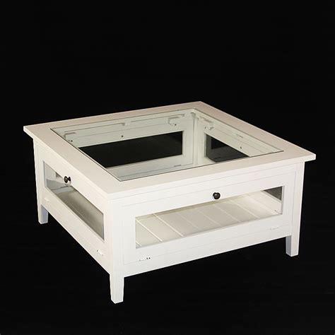 porte manteau bureau table basse bois massif blanche avec plateau verre made