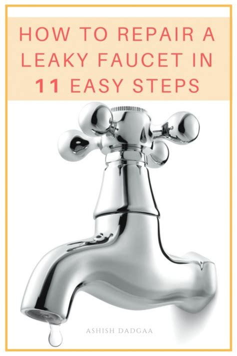how do i fix a leaky kitchen faucet ashish dadgaa on hubpages