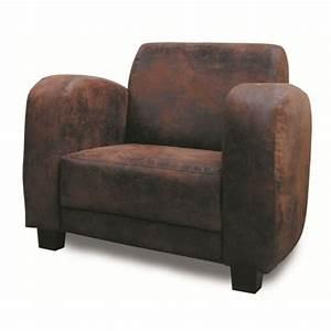 fauteuil microfibre vieux cuir With vieux canapé cuir