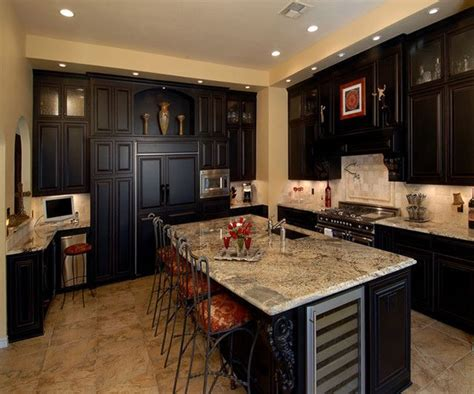 Espresso Kitchen Base Cabinets by 25 Great Ideas About Espresso Cabinets On