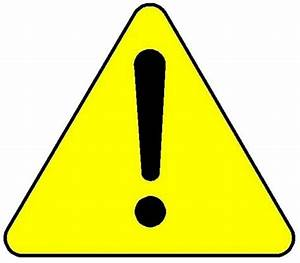 Yellow Warning Triangle - ClipArt Best