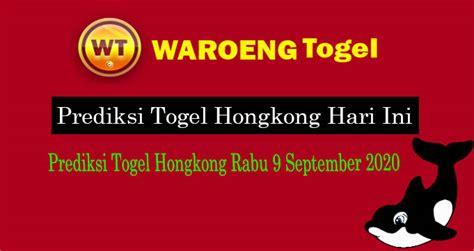 prediksi togel hongkong rabu  september  waroengtogel
