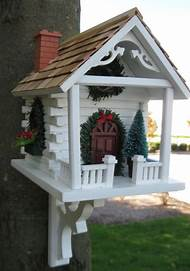 bird house christmas decorations - Bird House Christmas Decoration