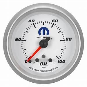 Auto Meter U00ae 880249  8 U0026quot  Oil Pressure