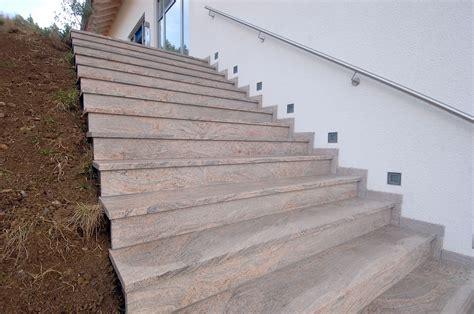 Treppe Außen Stein by Treppen 187 Natursteine Hirneise