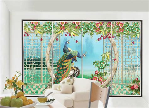 static clingself adhesive decorative window stickers