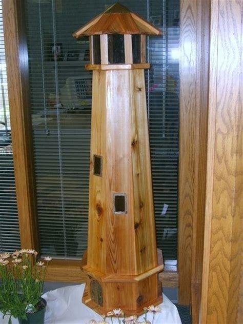 cedar lighthouse  woodbutcherer  lumberjockscom