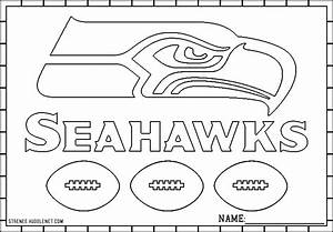 Seattle Seahawks Free Coloring Pages Seahawks Seattle