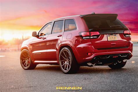 jeep srt8 2015 jeep srt8 on rennen crl 55 wheels rennen international