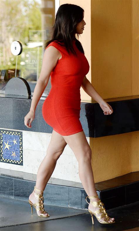 kim kardashian  los angeles arriving   studio