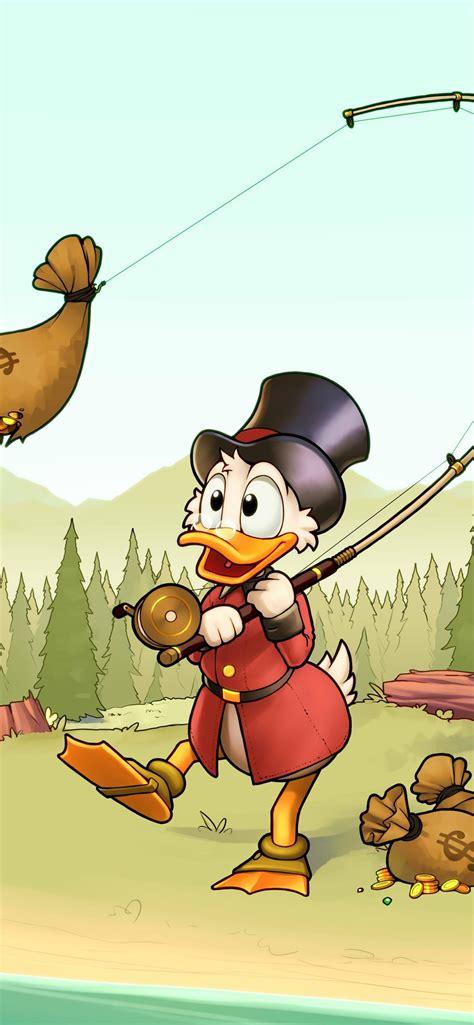 Disney Wallpaper Iphone Xs Max donald duck fishing money disney 1242x2688