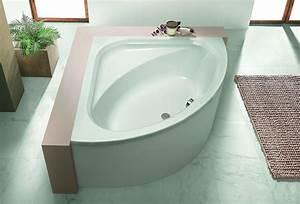 Eck Duschwand Für Badewanne : hoesch parana eckbadewanne 1400 mm mit loser sch rze wei ~ Markanthonyermac.com Haus und Dekorationen