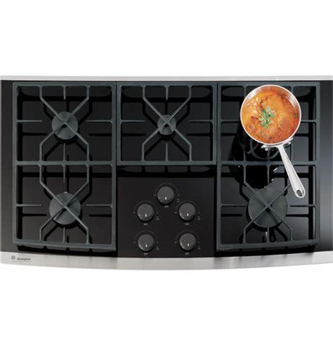 ge monogram zgukskss   monogram gas  glass cooktop  sealed cooktop burners natural