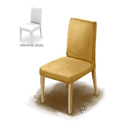 chair digital painting by mimie8 on deviantart