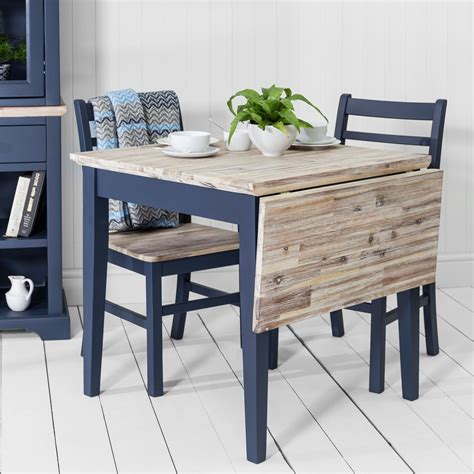 florence square extended tablenavy blue kitchen table