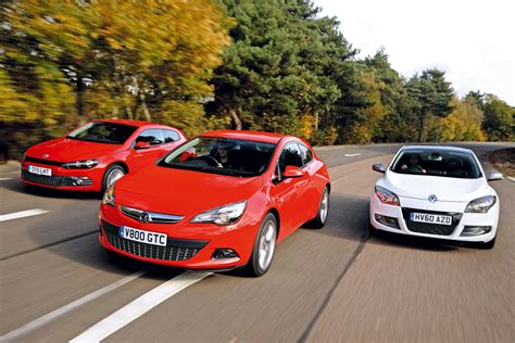 vauxhall scirocco vauxhall astra gtc vs rivals group tests auto express