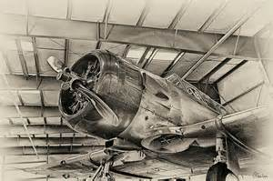 Drawings of Old Vintage Airplanes