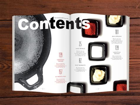 in design tutorial how to design a cool contents page in adobe indesign