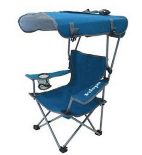 Kelsyus Kids Original Canopy Chair  Blue Tackledirect